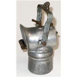 The Original Copper Queen Embossed Lamp