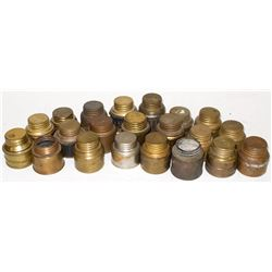 21 Carbide Refill Canisters for Carbide Lights