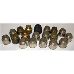 12 Wolf Carbide Canisters for Carbide Lights