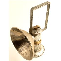 Large Hand Held Carbide Lamp