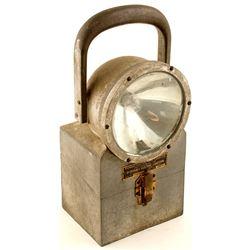 Pioneer Electric Mine Lamp, Hand Held