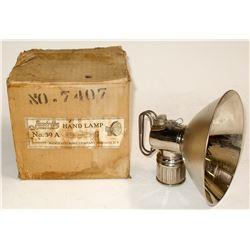 Original Justrite Hand Lamp