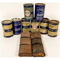 Union Carbide Tin Can Collection