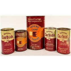 National Carbide Tin Can Collection