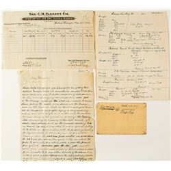 Amazing Handwritten History & Prospecus for the Copper Mining Company of Yakima