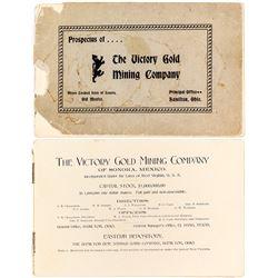 Victory Gold Mining Company Prospectus