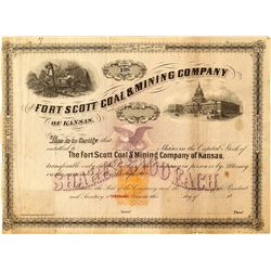 UNLISTED Fort Scott Coal & Mining Company of Kansas
