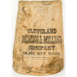 Cloth Ore Bag, Cleveland Mine, Silver City, Idaho