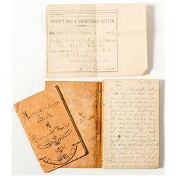 Diary of North Carolina Gold Miner, 1867