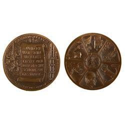 Mining Lamp Medal