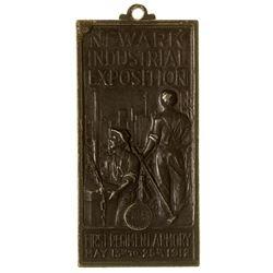 Newark Industrial Exposition Medal