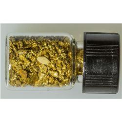 Vial of Alaska Gold
