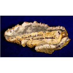 Grand Prize Mine High Grade Silver Specimen