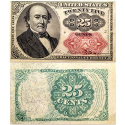 Fifth Issue 25 cent Fractional Currency