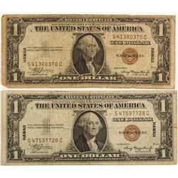 $1 Hawaii Silver Certificates