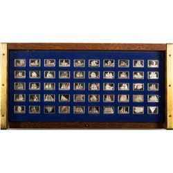 Great Sailing Ships of History Mini Ingot Collection