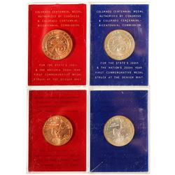 Two Proof Centennial Medals