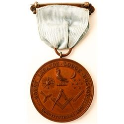Mt. Lebanon Lodge Medal