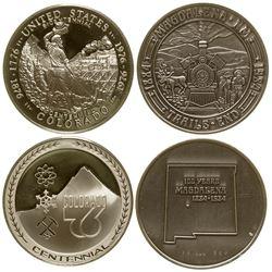 Two Centennial Medals