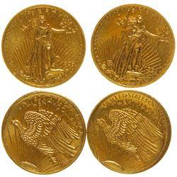 Miniature St. Gaudens $20 Gold Coins
