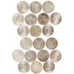 1880s Morgan Dollars