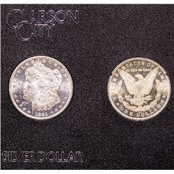 Gem 1881 GSA CC Silver Dollar