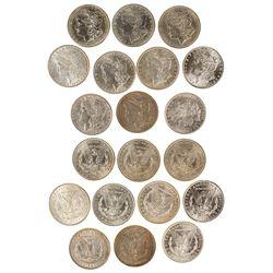 Ten Silver Dollars