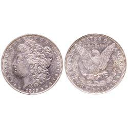 1893 Morgan Dollar AU50