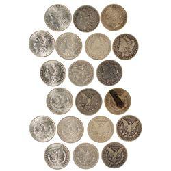 1890s Morgan Dollars