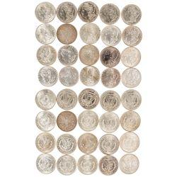 Roll of  Morgan Dollars