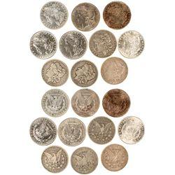 Twentieth Century Morgan Dollars