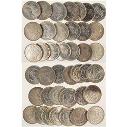 Roll of 1921 Morgan Dollars