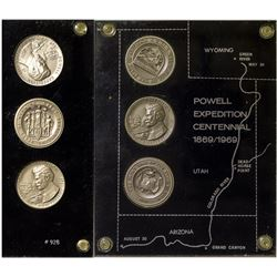 Powell Expedition Centennial Silver Medals