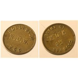 Hollister W.O.W. token