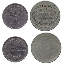 Two early Nickle Tokens
