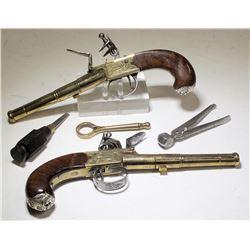 Thomas Jefferson Dealtry Cannon Barrel Flintlocks