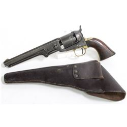 Colt 1851 Navy with Original NAVY Flap Holster
