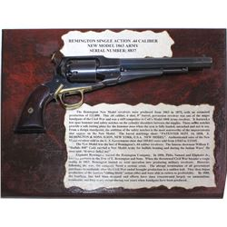 "Remington ""New Model'1863 44 Caliber Army Revolver"