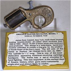 Knuckle-Duster Revolver Model 1