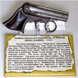 """Remington –Elliot """"Pepperbox Derringer"""