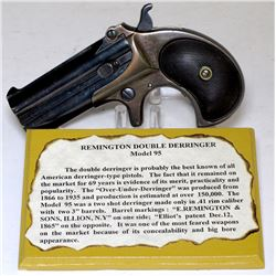 Remington Model 95 Double Derringer