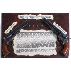 A BRACE OF COLT'S 36 CALIBER 1862 POCKET NAVY/POCKET POLICE
