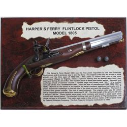 Harper's Ferry Flintlock Model 1805 Pistol