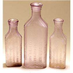 Three Wolpe Drug Bottles