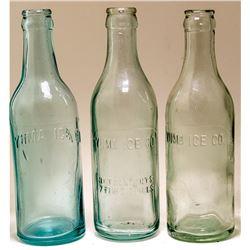 Three Yuma Ice Co. Sodas