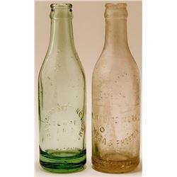 Two Rare Arizona Soda Bottles