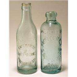 Monterey Soda Bottles