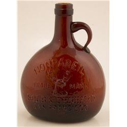 Kohl and Denhard, Nonpareil Whiskey. Thomas Flask Number 35