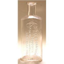 Canfield Drug Bottle