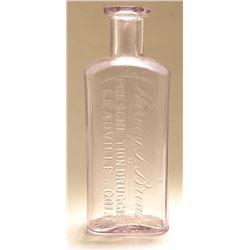 Harvey Brown Drug Bottle